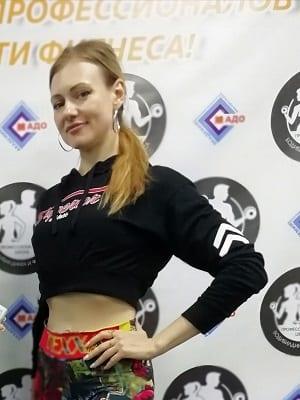тренер по фитнесу Дарья